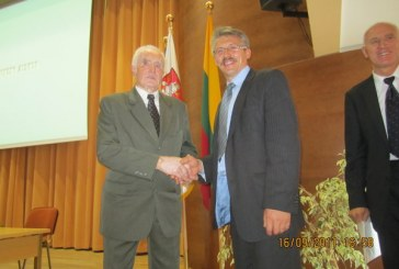 Iškilminga Jiezno šviesuolio profesoriaus dr. Juozo Skernevičiaus pagerbimo šventė