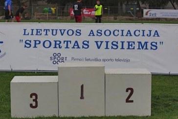 Lietuvos seniūnijų žaidynes Birštone vanikavo Gargždų seniūnijos triumfas