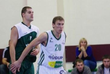 """""""Rūdupis"""", panaikinęs 24 taškų deficitą, įveikė """"Ventspils"""" krepšininkus"""
