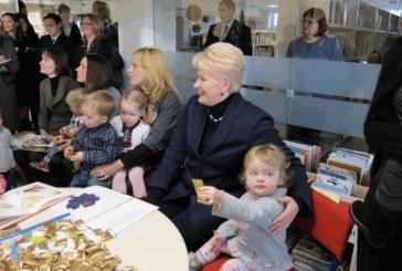 Prezidentė D. Grybauskaitė aplankė birštoniečius