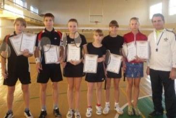 Balbieriškio badmintonininkų startai respublikiniuose turnyruose