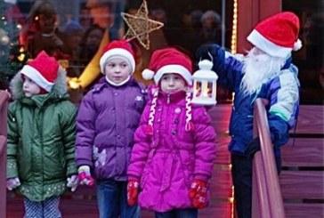 Atidaryta Kalėdų Senelio parduotuvė