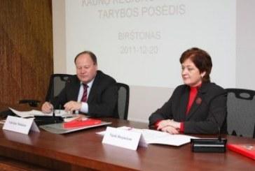 Įvyko Kauno regiono plėtros tarybos posėdis