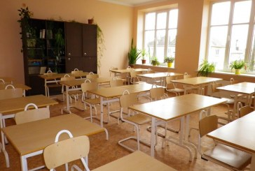Gimnazijoje – nedidelės įkurtuvės
