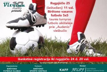 Birštono vasaros futbolo 5×5 turnyras
