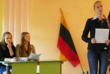Debatų metodika ir jos panaudojimo galimybės mokykloje