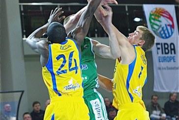 """""""Rūdupis"""", tragiškai sužaidęs ketvirtą kėlinį, pralaimėjo """"Ventspils"""" komandai"""