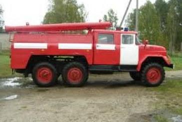 Savivaldybei priklausančių ugniagesių komandų parengtis – nepatenkinama