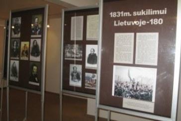 """Paroda """"1831 m. sukilimas Lietuvoje"""" Birštono muziejuje"""