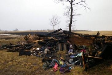 Žolės degintojai baudžia patys save