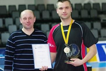 Regioninį stalo teniso turnyrą Prienuose laimėjo birštoniškis