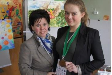 Berta Kreivėnaitė – dailės olimpiados trečios vietos laimėtoja