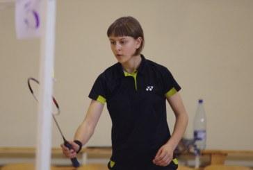Gerda Trakymaitė Lietuvos taurės varžybose nugalėjo vienetų ir dvejetų turnyruose