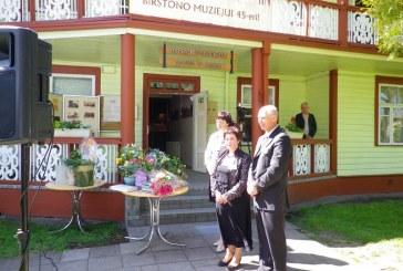 Birštono muziejus švenčia 45-metį