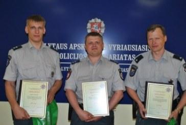 Išrinktas geriausias 2012-ųjų Alytaus apskrities apylinkės inspektorius