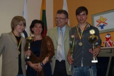 Arnas Deltuva ir Arijus Jurevičius apdovanoti LTOK prizais