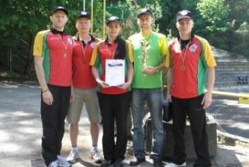 Tarp stipriausiųjų policijos taikomojo biatlono sportininkų – Alytaus apskrities policijos komanda