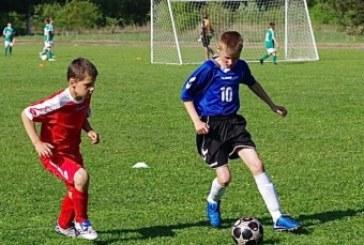 Paprienės stadione – Lietuvos vaikų pirmenybių turas