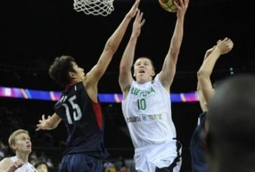 Lietuviai palaužė Korėjos krepšininkus, E.Šeškus pelnė 25 taškus