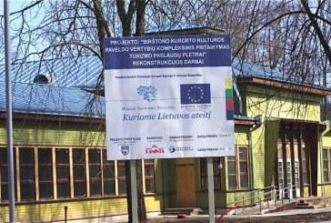 Kurhauzo renovacijos darbai turi būti užbaigti iki lapkričio 1 d.