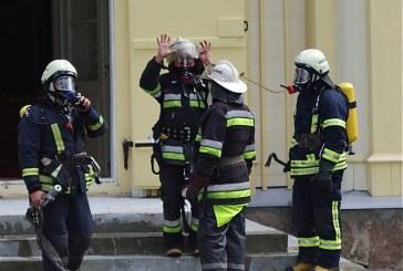 PGT ir PT ugniagesiai plušo pratybose