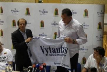 "Lietuvos krepšinio rinktinę rems ""Vytautas"""
