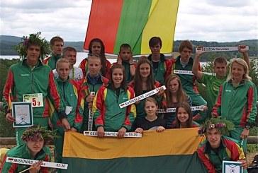 Lietuvos jauniai Europos čempionato estafetės rungtyje – penkti