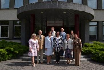 Birštono savivaldybėje lankosi svečiai iš Neringos
