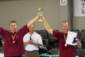 Komandinio stalo teniso turnyro nugalėtojai – ugniagesiai