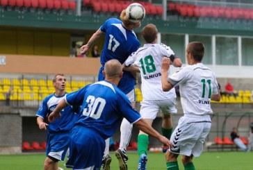 """""""Rūdupio"""" futbolininkai įveikė """"Žalgiris-3"""" komandą"""