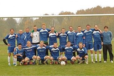 """Prienų """"Rūdupio"""" futbolininkai – LFF II lygos Pietų zonos čempionai"""