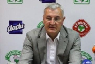J. Kazlauskas tapo Lietuvos rinktinės vyriausiuoju treneriu (video)