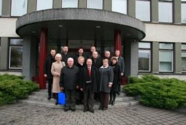 Birštono savivaldybėje lankėsi Kazlų Rūdos savivaldybės delegacija