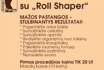 """Masažas su """"Roll shaper"""" – tai nuostabu!"""