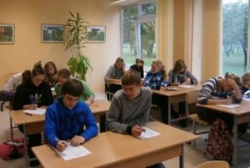 Vyko Konstitucijos egzaminas