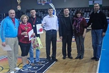 Bendruomenių stalo teniso turnyre triumfavo Prienų komanda