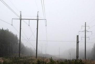 Elektros tiekimo sutrikimai Prienuose