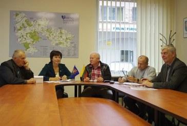 Opozicinės frakcijos Taryboje spaudos konferencija