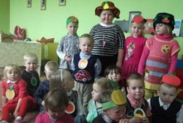 Balbieriškio ikimokyklinio ugdymo skyriuje svečiavosi Dėdė Rudenėlis