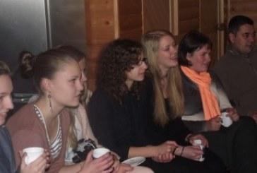 Birštone lankėsi Neringos jaunimo delegacija