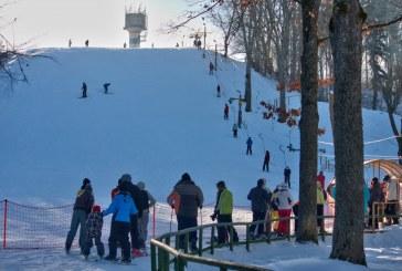 Birštonas ruošiasi Sniego kalno atidarymui