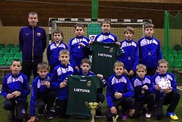 Prienų KKSC-2013 taurės turnyre prieniškiai liko antri