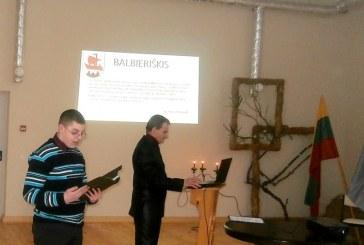 Balbieriškiečiai netradiciškai paminėjo Valstybės gimimo dieną