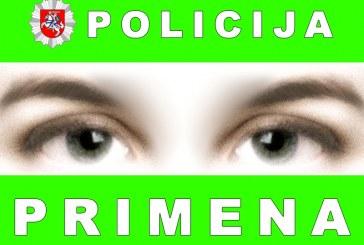 Policija primena: Vasario 16-ąją keliama trispalvė