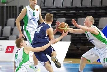 """""""Rūdupio-KKSC"""" krepšininkai pergale pradėjo atkrintamųjų varžybų maratoną"""