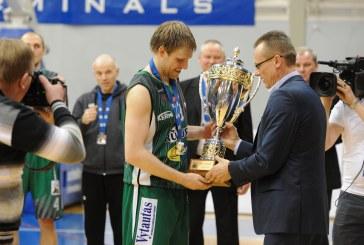 """""""Prienai"""" laimėjo Latvijoje, bet BBL čempionate liko antri"""
