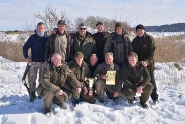 Rajono medžiotojai varžėsi dėl pereinamosios taurės