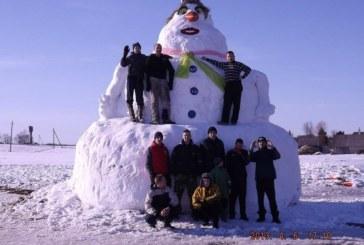 N. Ūtoje – 6 metrų sniego senis