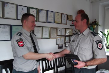 Prienų rajono kelių policijos vairas – naujo pareigūno rankose