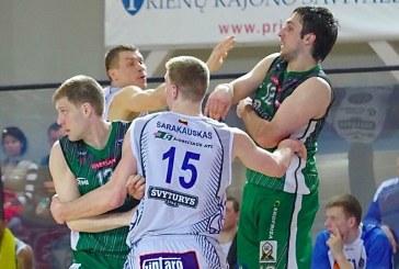 """""""Prienų"""" komandos žaidėjai – tarp BEKO-LKL čempionato geriausiųjų"""